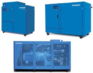 Compresores BOGE para altos caudales