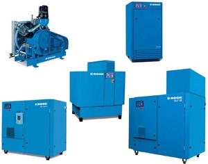Compresores BOGE para caudales medianos