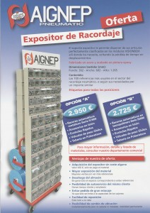 Expositor Racordaje
